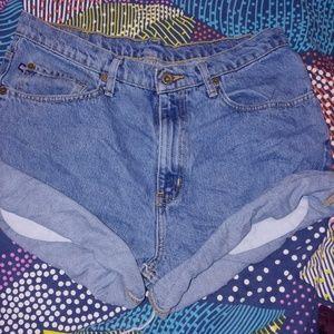 Ralph Lauren cut off shorts